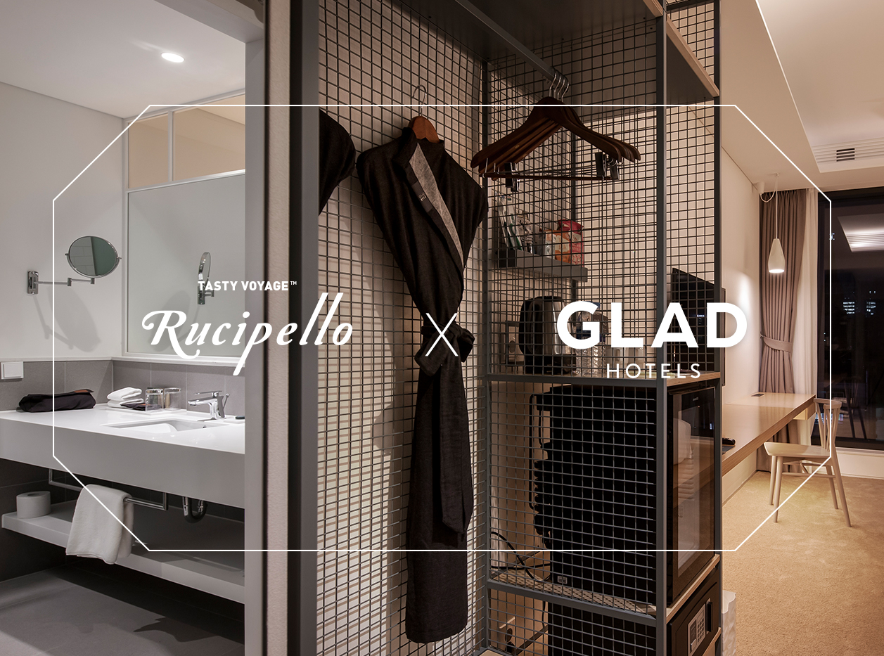 [RUCIPELLO X GLAD HOTEL]