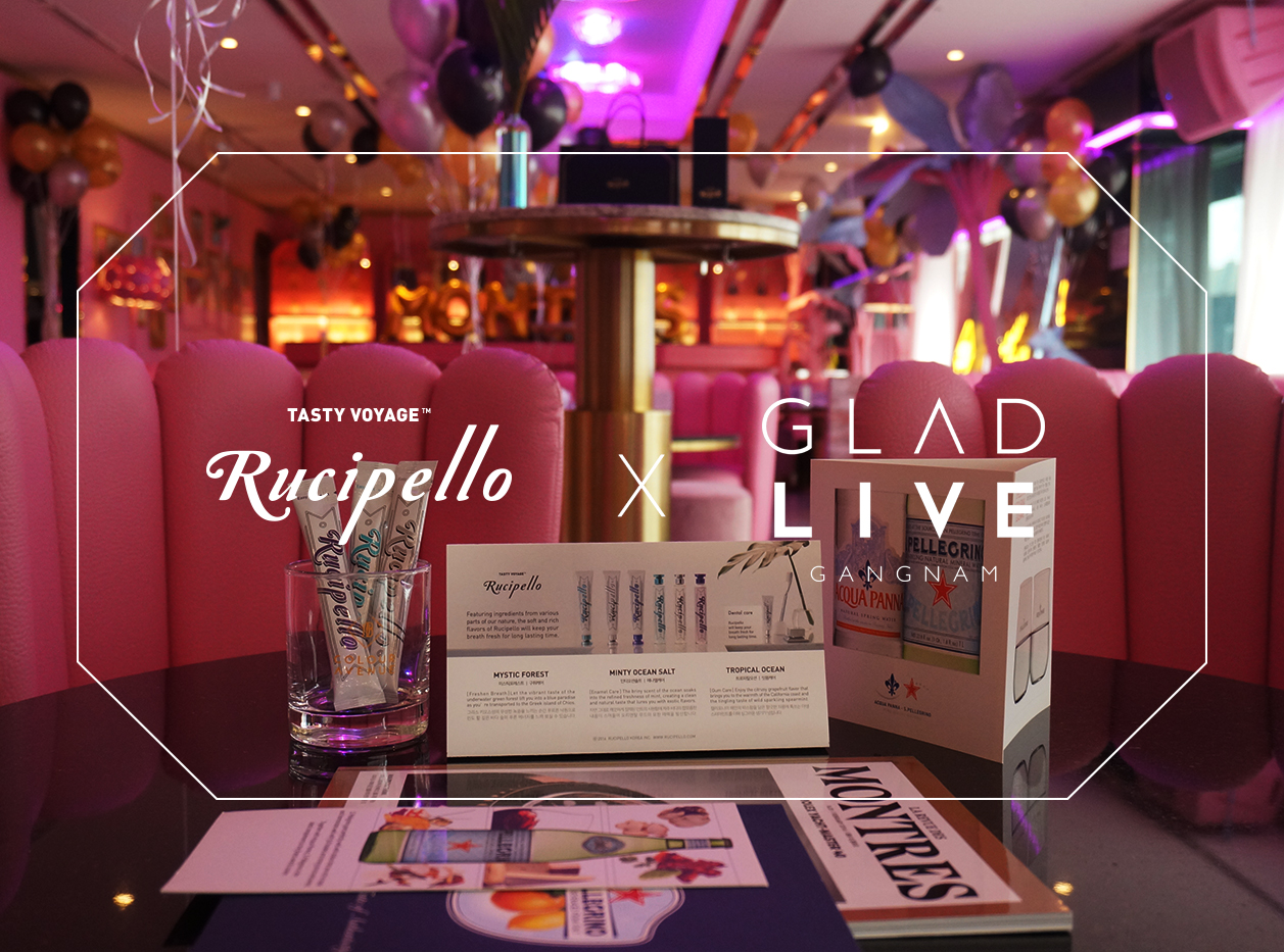 [RUCIPELLO X GLADLIVE]